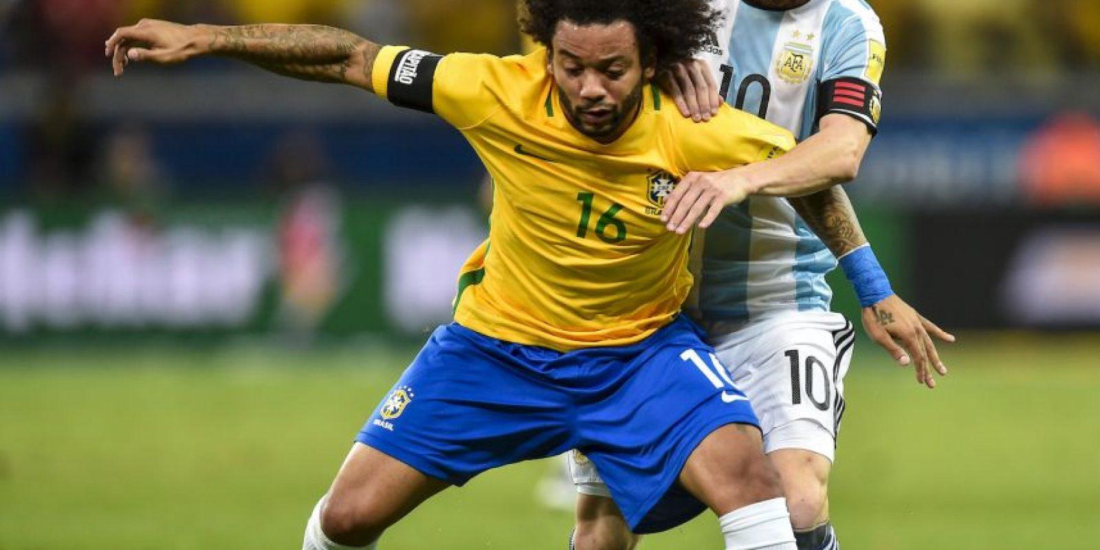 Mejores imágenes del partido Brasil vs. Argentina Foto:Getty Images