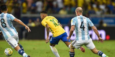 Neymar se acerca a los máximos goleadores históricos de Brasil Foto:Getty Images