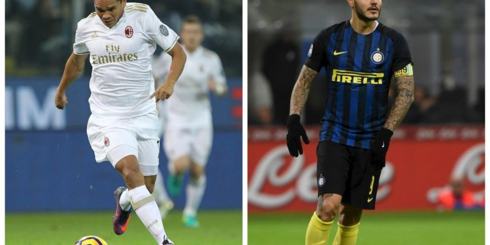 AC Milan-Inter de Milán Foto: Getty Images