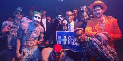 Muchos atletas se disfrazaron en Halloween. Por ejemplo los Cleveland Cavaliers Foto:Instagram