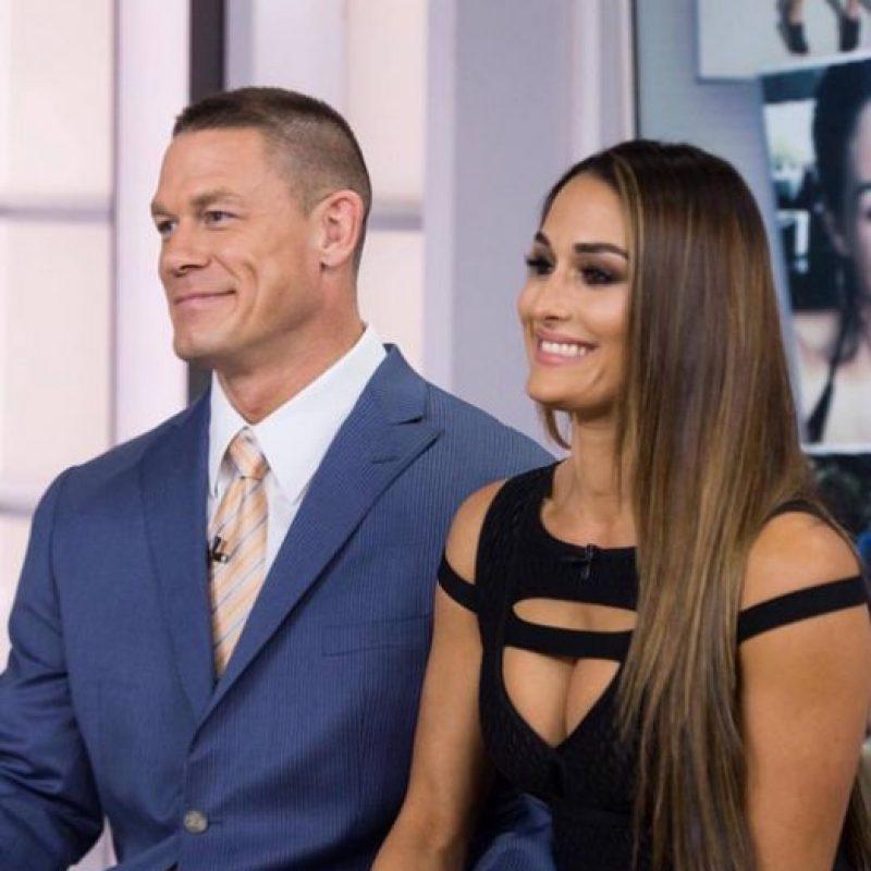 Las mejores imágenes de John Cena y Nikki Bella Foto:Instagram