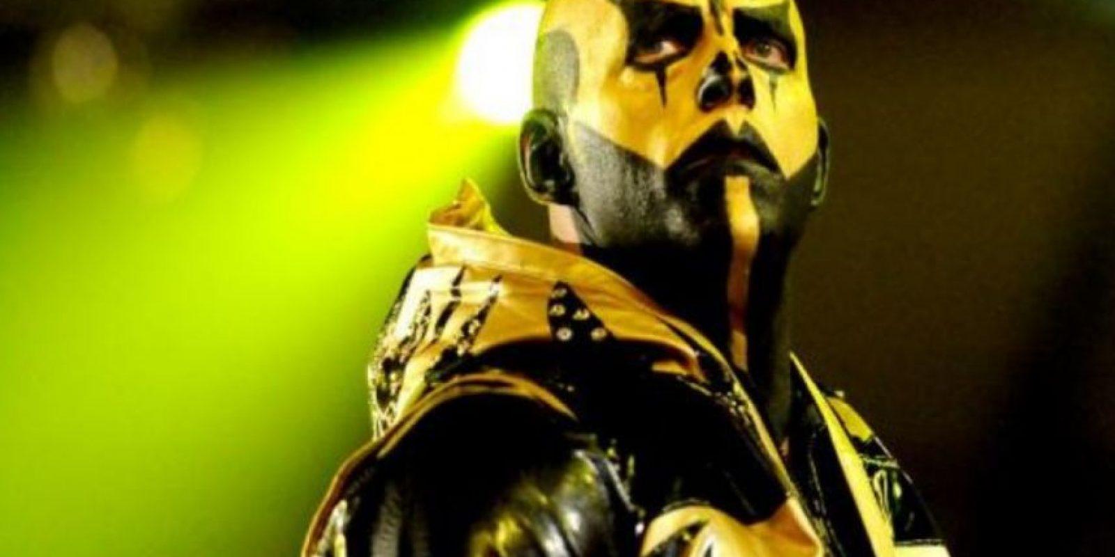 Así luce Goldust con maquillaje Foto:WWE