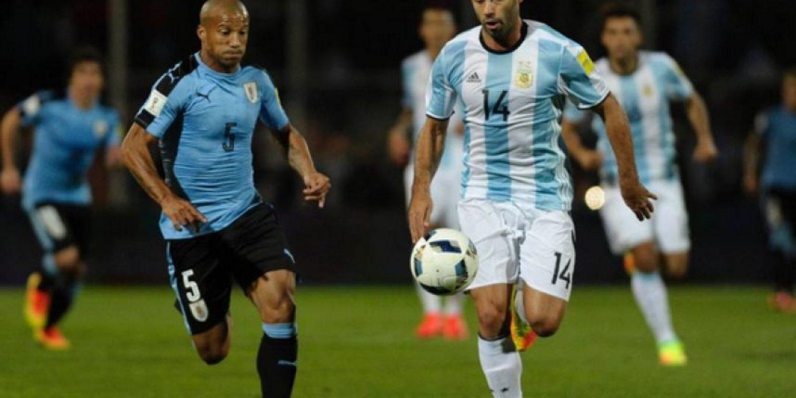 """Argentina vs. Uruguay. El """"Clásico rioplatense"""" data desde 1901 Foto:Getty Images"""