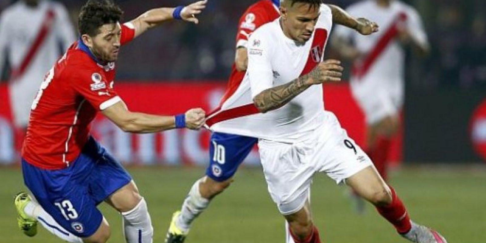 Chile vs Perú. La rivalidad se debe a la Guerra del Pacífico Foto:Getty Images
