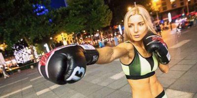 Ekaterina Vanderyeva, la peleadora que es comparada con Barbie