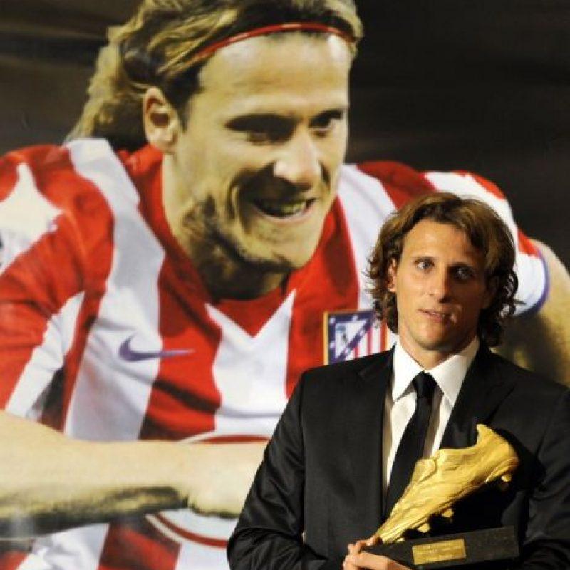 Diego Forlan – Atlético de Madrid (2008/09) Foto:AFP