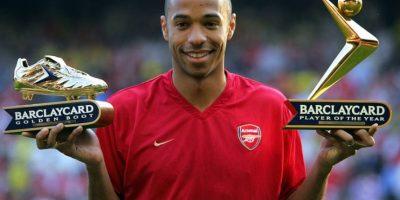 Thierry Henry – Arsenal y Diego Forlán – Villarreal (2004/05) Foto:AFP