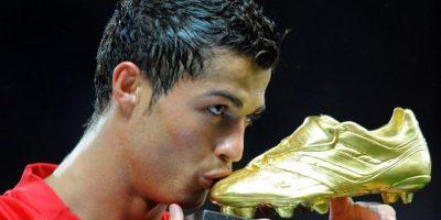 Cristiano Ronaldo – Manchester United (2007/08) Foto:AFP