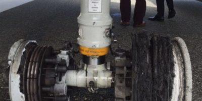 Avión aterriza de emergencia en  Punta Cana luego de que se explotara neumático