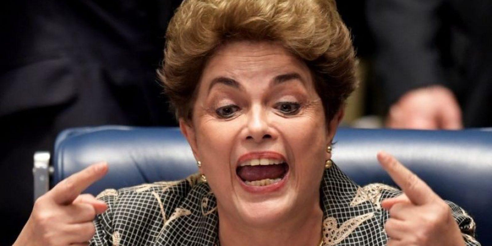 Dilma habla de golpe de Estado y asalto a la democracia. Foto:Metro