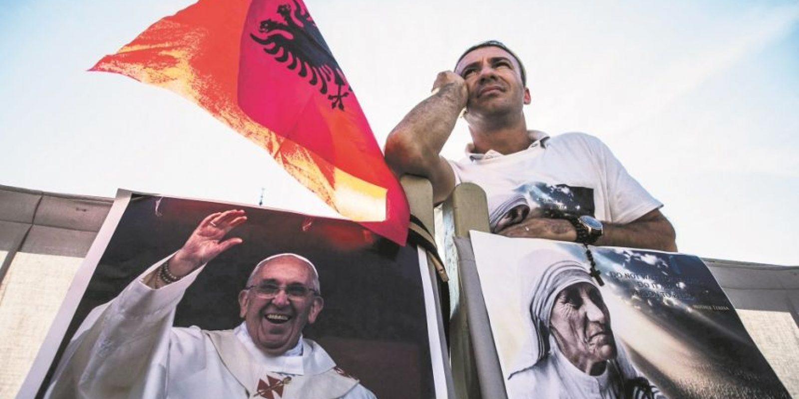 La madre Teresa había sido proclamada beata en 2003 por Juan Pablo II, tan solo seis años después de su muerte. Foto:EFE