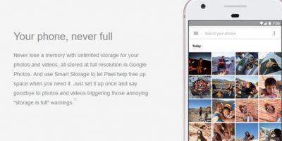 Google Pixel tendrá una gran memoria. Foto:Carphone Warehouse/Google