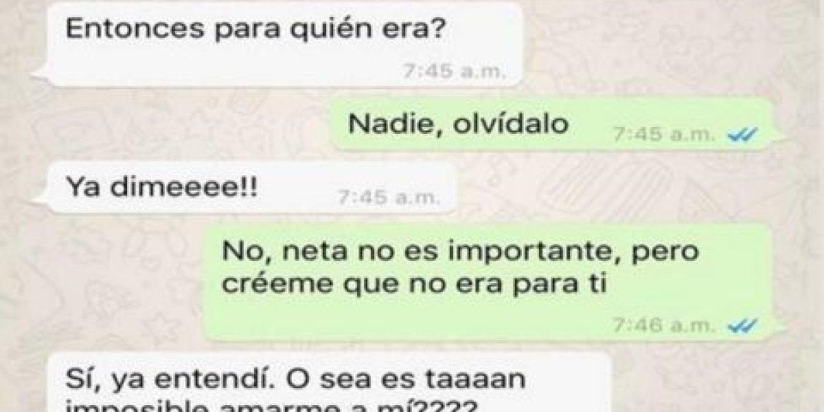 WhatsApp: Las conversaciones más divertidas de conquistas fallidas