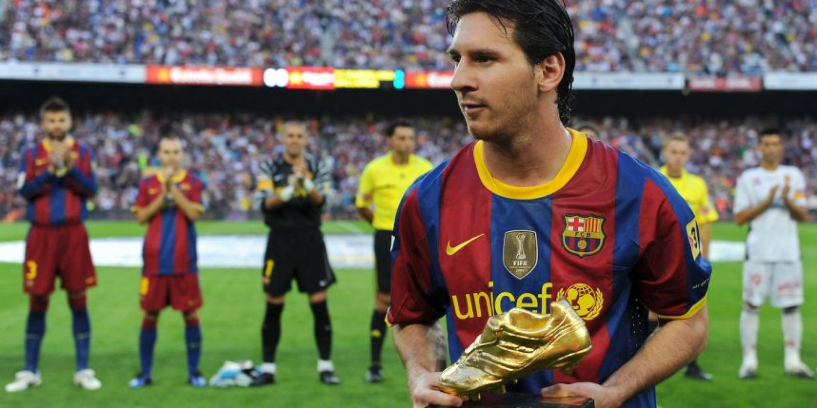 Lionel Messi – Barcelona (2009/10) Foto: Getty Images