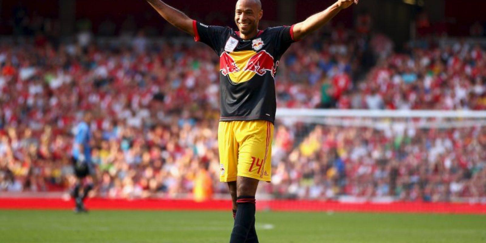 Thierry Henry en su retorno al Emirates Stadium Foto:Getty Images