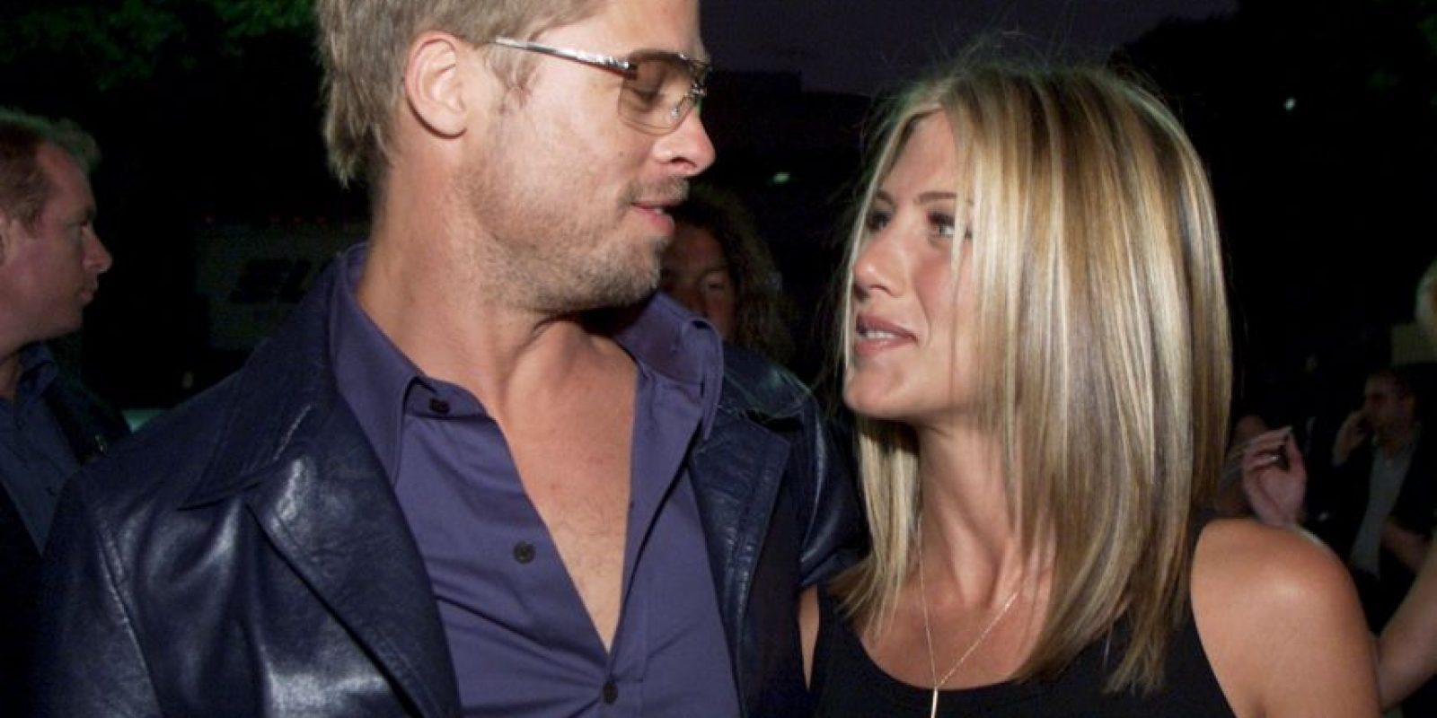 Se dice que el actor quiere hablar con Jennifer Aniston Foto:Getty Images