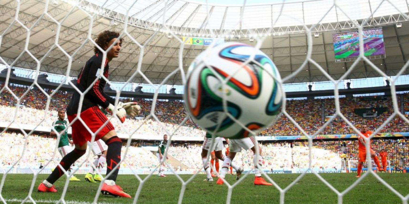 Guillermo Ochoa, el portero más goleado del mundo Foto:Getty Images