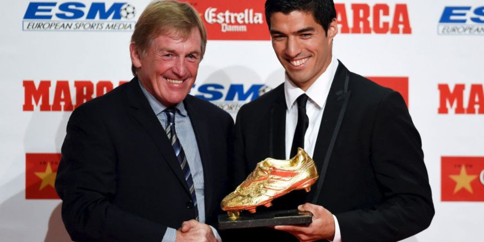Luis Suárez – Liverpool y Cristiano Ronaldo – Real Madrid (2013/2014) Foto: Getty Images