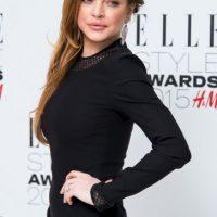 La actriz publicó una foto semidesnuda en sus redes sociales Foto:Getty Images
