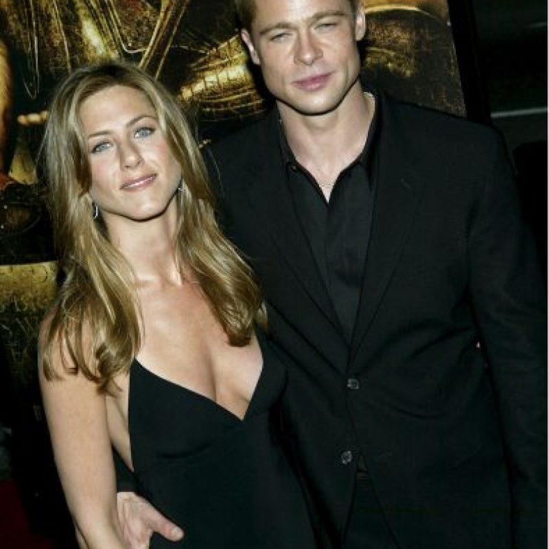 Brad Pitt y Jennifer Aniston Foto:Getty Images