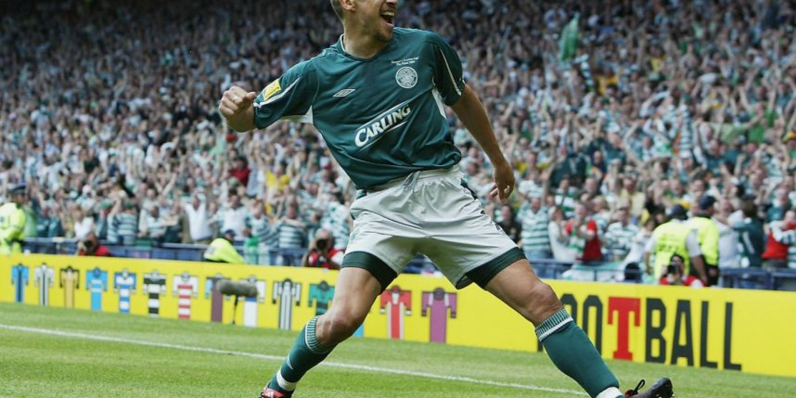 Henrik Larsson – Celtic (2000/01) Foto: Getty Images