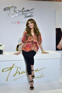 La cantante sufrió un accidente de vestuario Foto:Getty Images