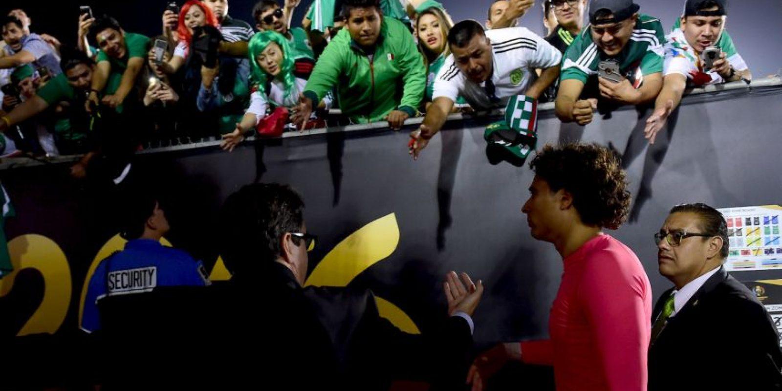 """El fin de semana se """"comió"""" siete goles Foto:Getty Images"""