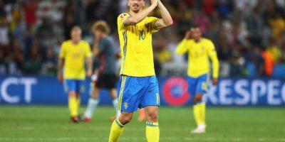 El delantero sueco siempre tiene algo que decir. Foto:Getty Images