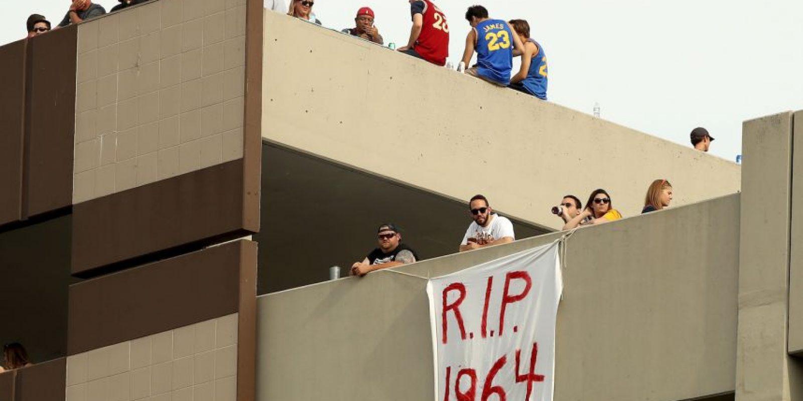 Cleveland no festejaba un título desde 1964, cuando los Cleveland Browns se consagraron en la NFL Foto:Getty Images