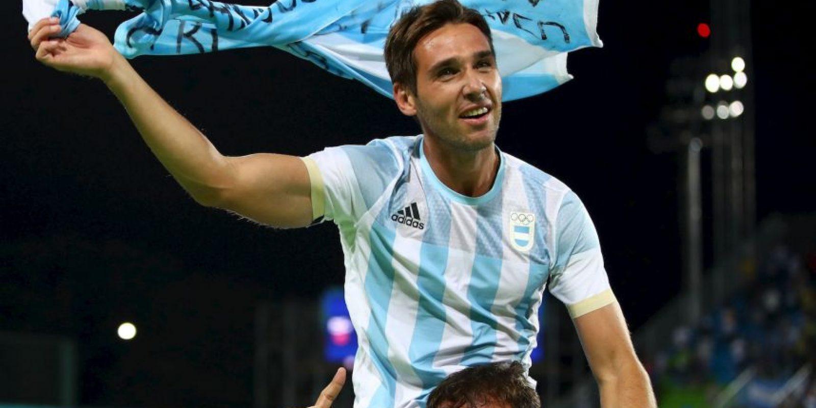 La Selección de Argentina ganó el oro en los JO de Río 2016 Foto:Getty Images