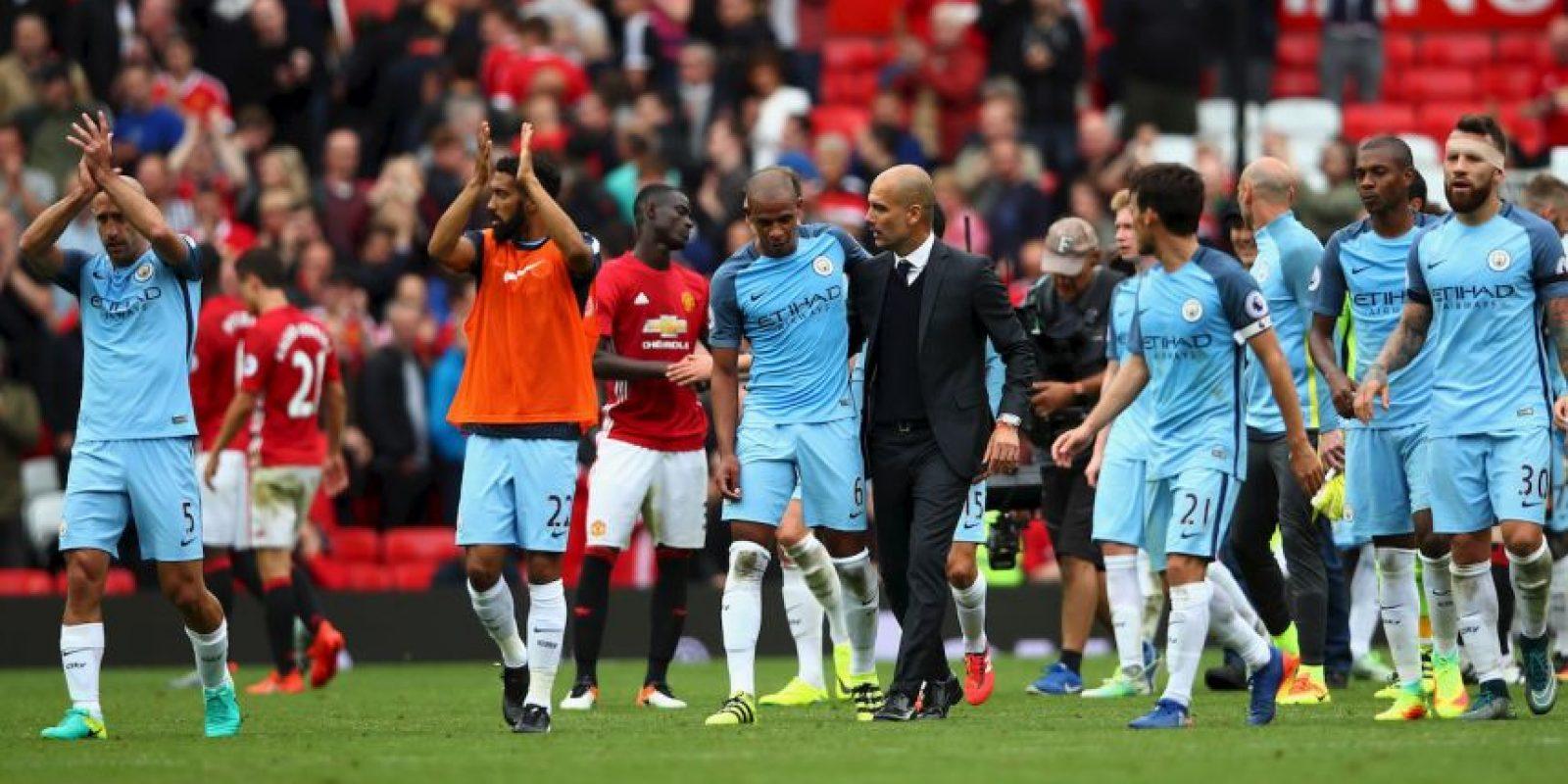 Manchester City y Manchester United se medirán por la Capital One Cup Foto:Getty Images