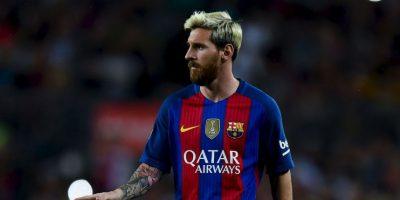 1.-Lionel Messi (29 años-Fútbol) – 81.4 millones de dólares Foto:Getty Images