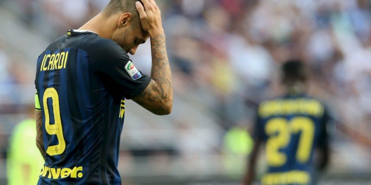 El calvario que vive Mauro Icardi con los hinchas de Inter de Milán