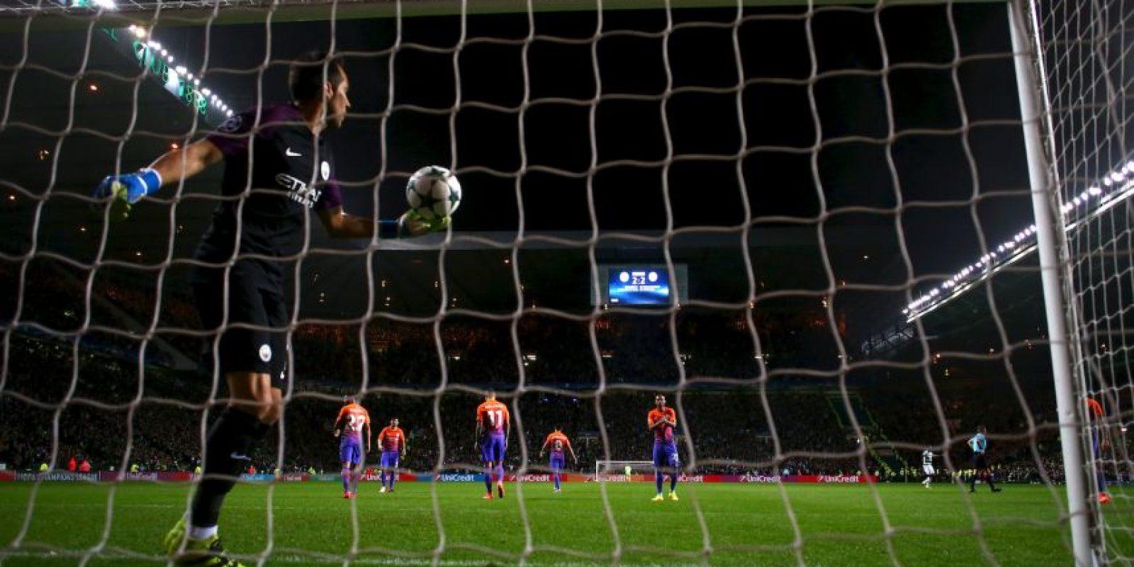 La mala racha del español comenzó con el empate a tres tantos ante Celtic Foto:Getty Images