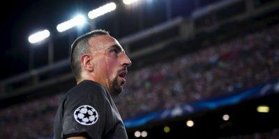 Franck Ribery. El galo llegó a valer 50 millones de euros en 2010. En la actualidad cuesta nueve millones Foto:Getty Images