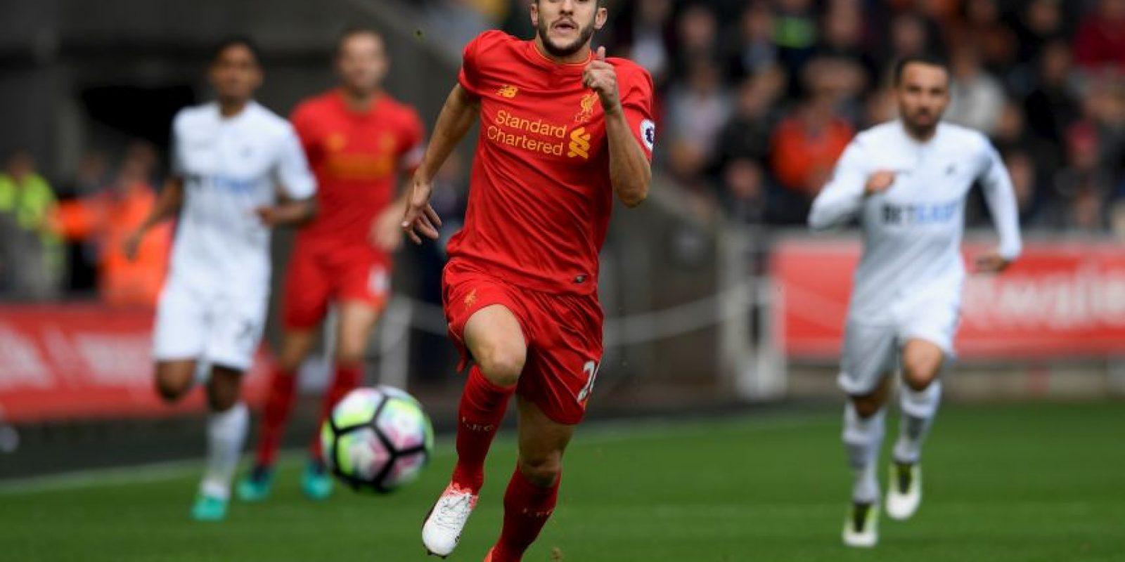 6. Liverpool-Premier League (852.000 camisetas vendidas – New Balance) Foto:Getty Images