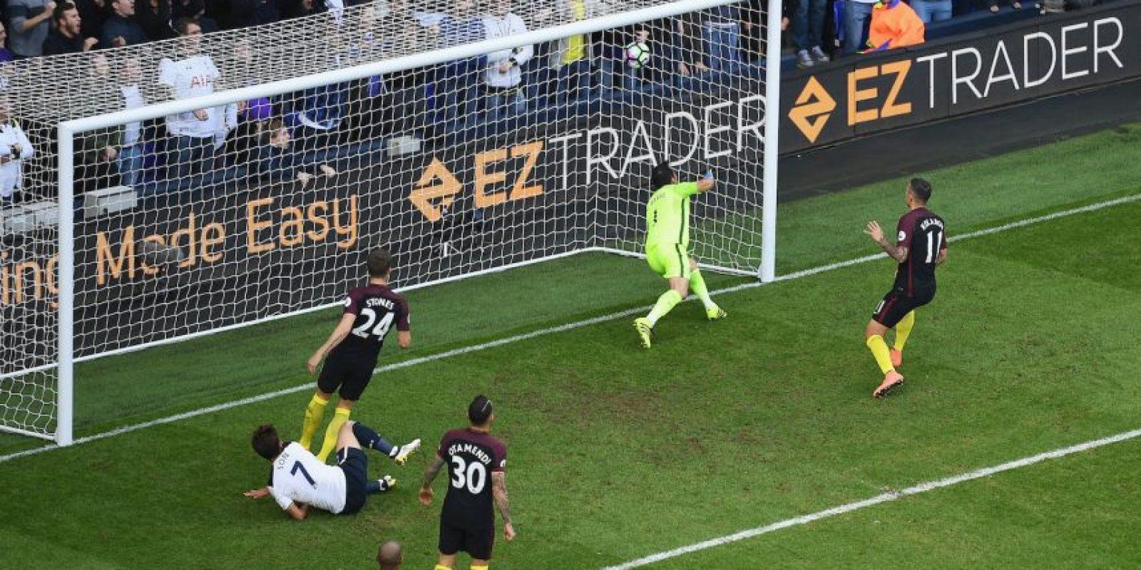 Tottenham fue el segundo partido sin ganar de Manchester City. Cayeron por 2 a 0