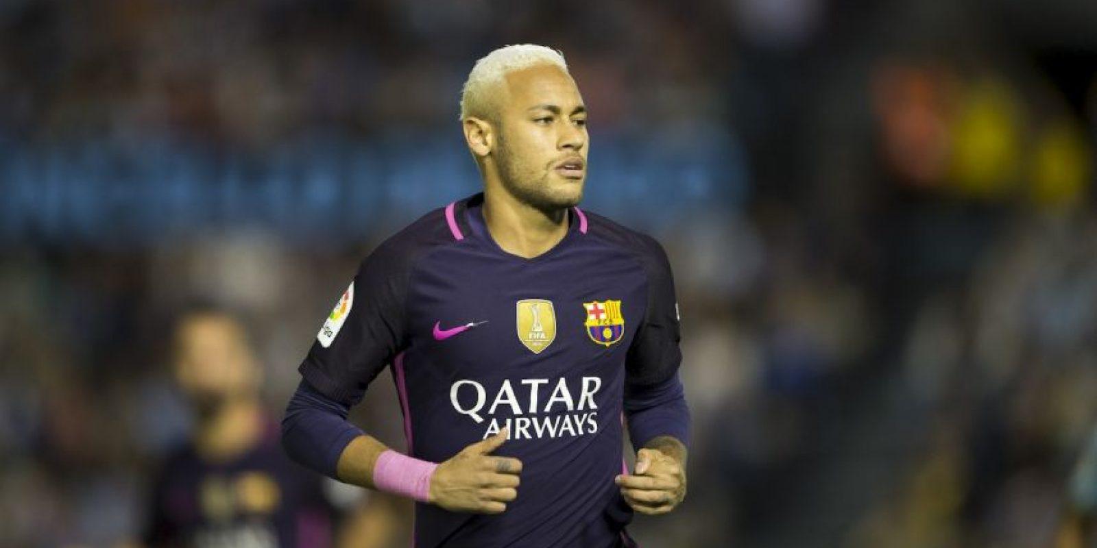 9.- Neymar (24 años-Fútbol) – 37.5 millones de dólares Foto:Getty Images