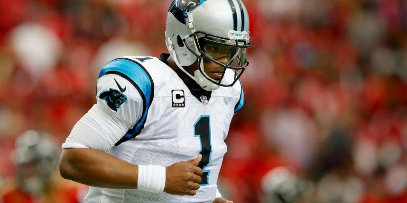 4.-Cam Newton (27 años-Fútbol Americano) – 53.1 millones de dólares Foto:Getty Images
