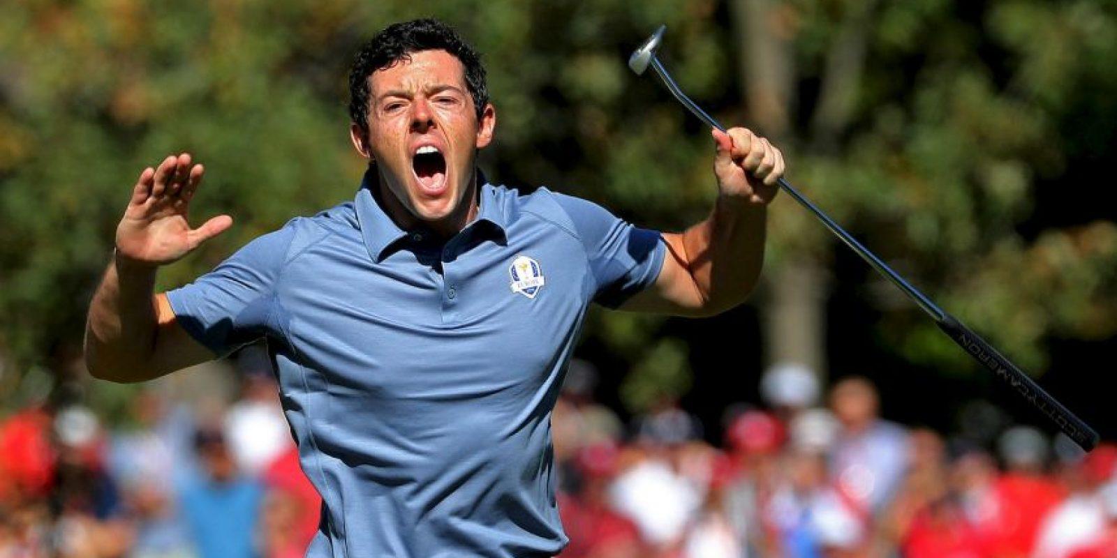 6.-Rory McIlroy (27 años-Golf) – 42.6 millones de dólares Foto:Getty Images