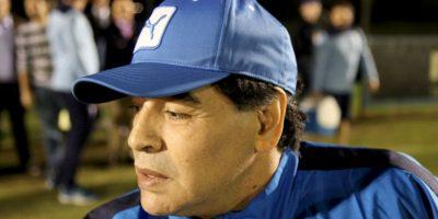 Diego Armando Maradona. Fue eliminado en el Mundial de Sudáfrica 2010 en cuartos de final Foto:Getty Images
