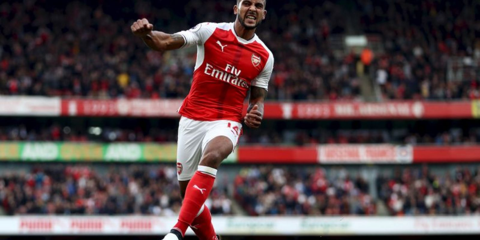 7. Arsenal-Premier League (835.000 camisetas vendidas – Puma) Foto:Getty Images