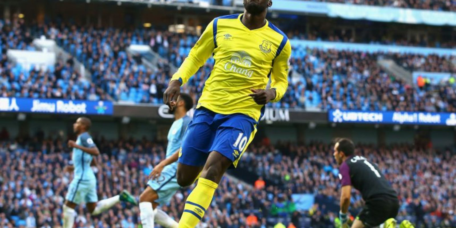 Tras caer con Tottenham, los Citizens igualaron a un tanto con Everton. Foto:Getty Images