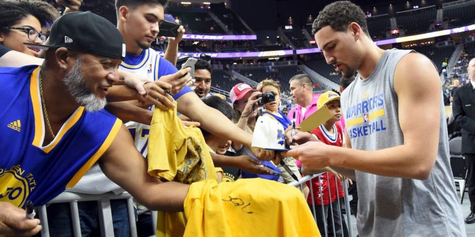 Golden State es favorito para llevarse el campeonato Foto:Getty Images