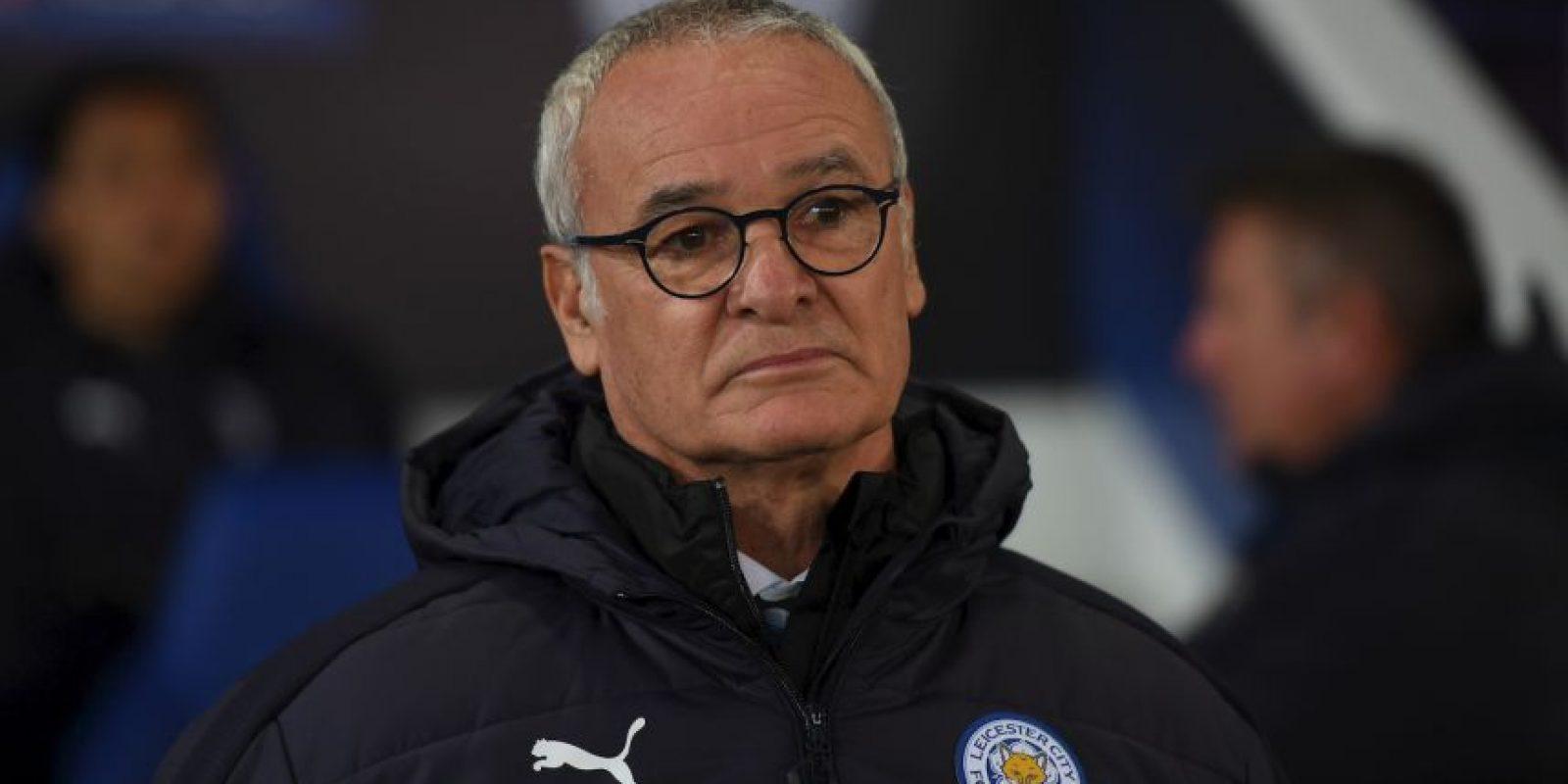 Claudio Ranieri. Ahora es el DT campeón de la Premier League, pero en su tiempo dejó en puestos de descenso al Atlético de Madrid Foto:Getty Images