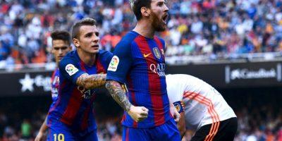 Lionel Messi (FC Barcelona-Argentina): El trasandino es uno de los mejores jugadores del mundo y así lo demuestra cada fin de semana por los culé. Además, pese a perder en la final con Chile, ayudó a Argentina a llegar a la final de la Copa América Centenario Foto:Getty Images