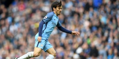 "David Silva: ""El Chino"". Por su ascendencia asiática Foto: Getty Images"