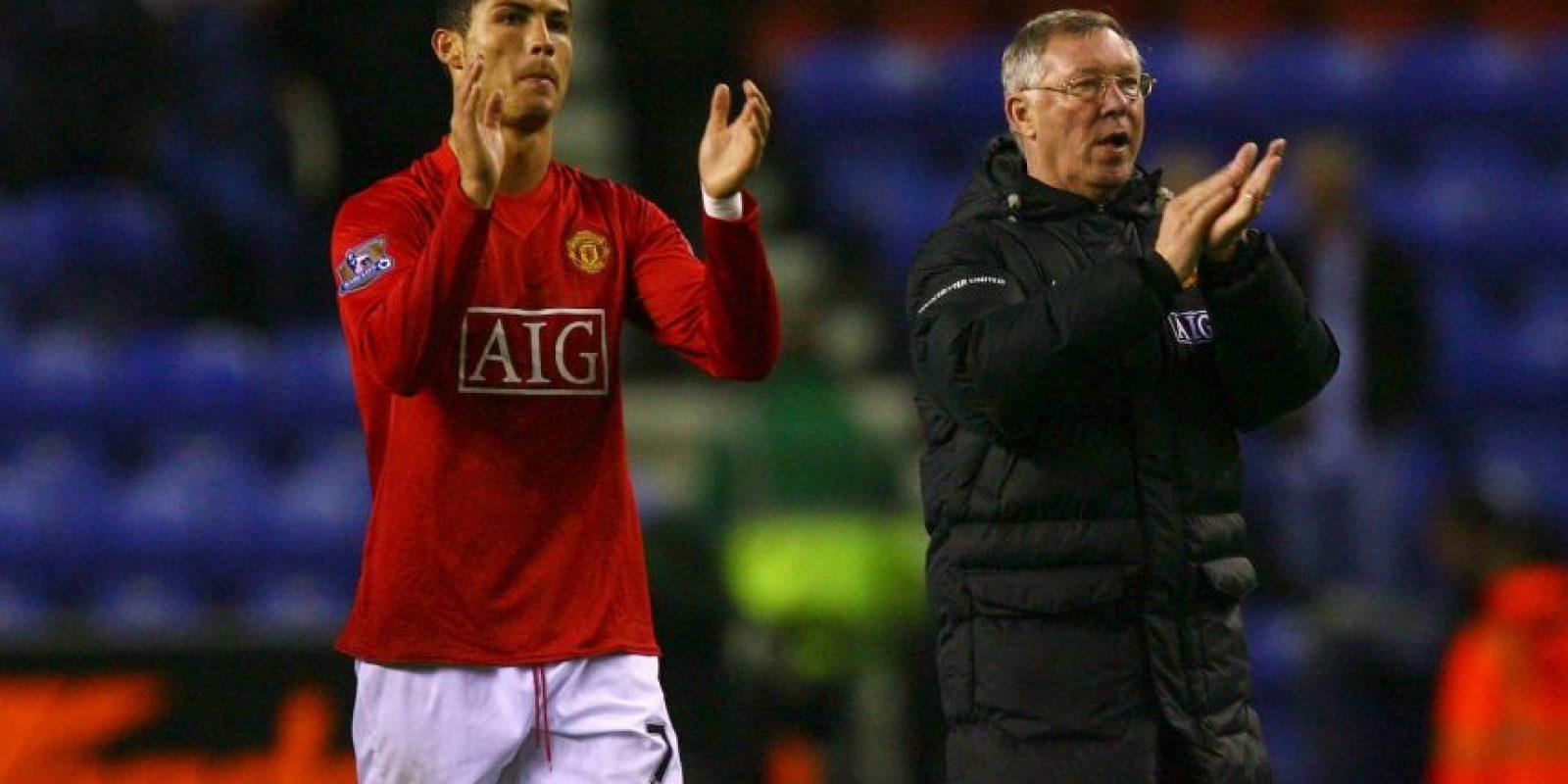 Alex Ferguson no quería a Cristiano Ronaldo en Real Madrid Foto:Getty Images