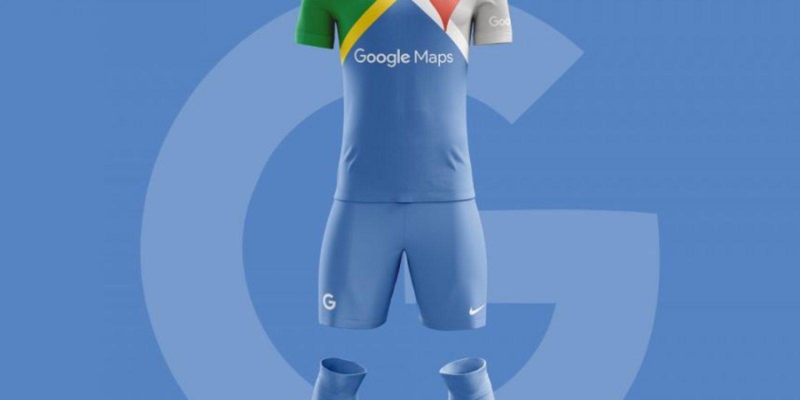 Google Football Maps