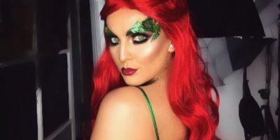 """Perrie Edwards del grupo Little Mix se transformó en """"Poison Ivy"""""""